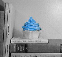 Blue Cake by mizkake