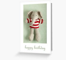 Ed birthday card Greeting Card