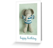 Edgar birthday Greeting Card