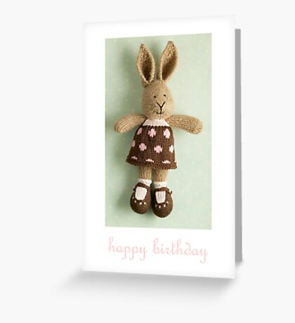 georgette birthday Greeting Card