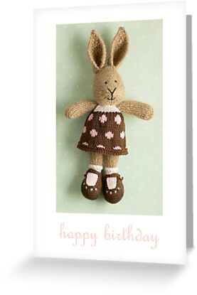 georgette birthday by bunnyknitter