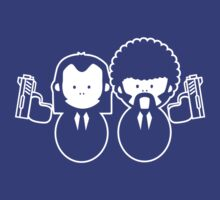 Pulp Fiction Vince & Jules Cartoons by no-doubt