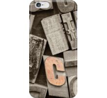 Give me a C  iPhone Case/Skin