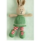 christmas bunny girl (2) by bunnyknitter