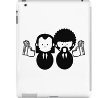 Pulp Fiction Vince & Jules Cartoons v.2.0 iPad Case/Skin