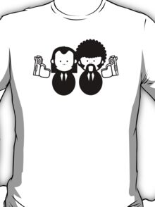 Pulp Fiction Vince & Jules Cartoons v.2.0 T-Shirt