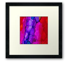 Network Framed Print