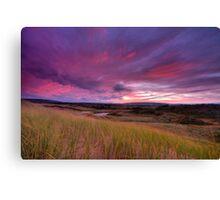Dune Sunrise Inverness Beach NS Canvas Print