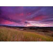 Dune Sunrise Inverness Beach NS Photographic Print