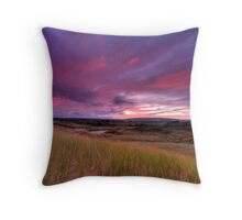 Dune Sunrise Inverness Beach NS Throw Pillow