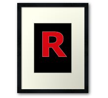 Team Rocket Framed Print