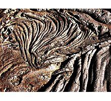 Lava Batter II Photographic Print