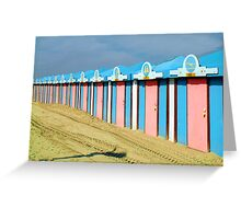 Malo les Bains, Dunkerque Greeting Card