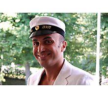 Captain a votre service Photographic Print