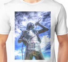 Bon Scott Statue -  HDR - Fremantle WA Unisex T-Shirt
