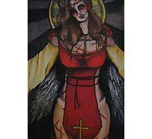 Angel of Sacrifice Photographic Print
