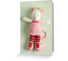 mary margaret Greeting Card