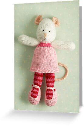 mary margaret by bunnyknitter