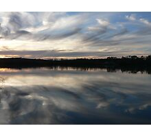 Murray River Sun Set Photographic Print