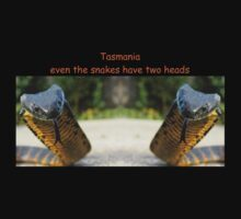 Even the Snakes have two heads In Tasmania by Thow's Photography