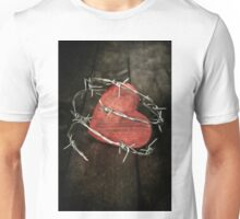 protected heart Unisex T-Shirt