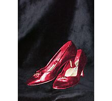 Ruby Shoes Photographic Print