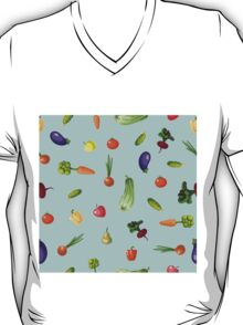 with growing vegetables - beetroot, potato, carrot, garlic and onion T-Shirt