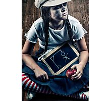 school girl Photographic Print