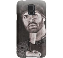 Viking in York #20, Ragnar the axeman relaxing Samsung Galaxy Case/Skin