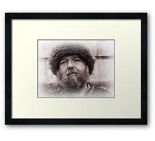 Viking in York #19, Njal Siggurdsson Framed Print