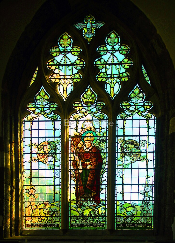 Quot St Davids Cathedral Pembrokeshire Wales Stained Glass