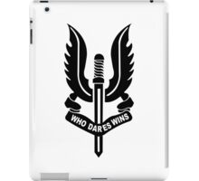 Who Dares Wins iPad Case/Skin
