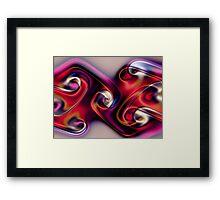 Gnarlly Ties Framed Print