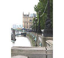 Embankment Photographic Print