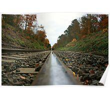 Railroad Symmetry  Poster