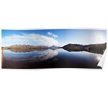 Loch Maree Shoreline Panorama Poster