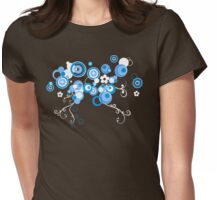 blueberry bliss Womens Fitted T-Shirt