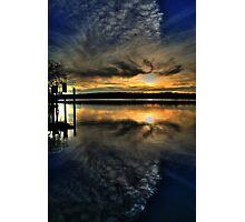 Sun Set Blues Photographic Print