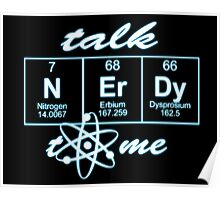 Talk Nerdy to me... Poster