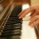 Woman plays the piano by AlphaMale912
