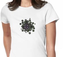 Particles Womens Fitted T-Shirt