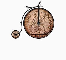 Penny farthing bike Womens Fitted T-Shirt
