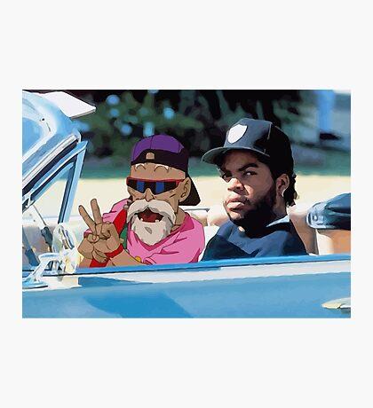 Ice Cube x Master Roshi Photographic Print