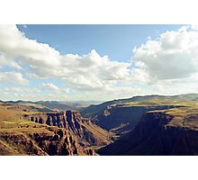 Maletsunyane River Photographic Print
