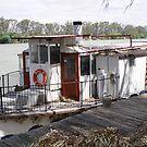 Retired paddle steamer by georgiegirl