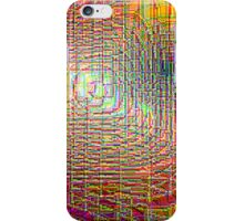 Pipe Overlay III  (from the Speck of a Pigeon's Eye series) iPhone Case/Skin