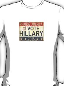 Vote Hillary Clinton 2016 T-Shirt