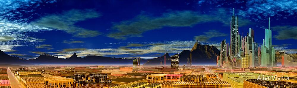 Las Vegas II by AlienVisitor