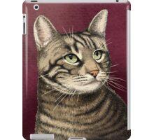 Tabby cat iPad Case/Skin