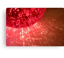 Red flame Canvas Print